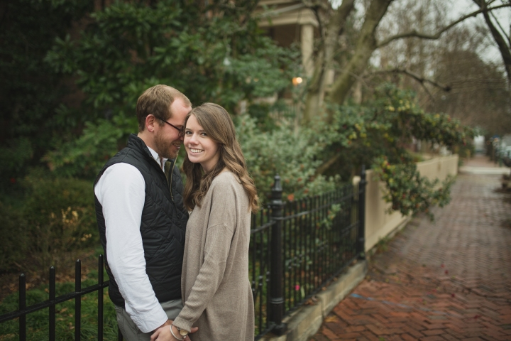 Annie & Thomas // Libby Hill Park Richmond, Virginia Engagement // Turtle & Hare Photography